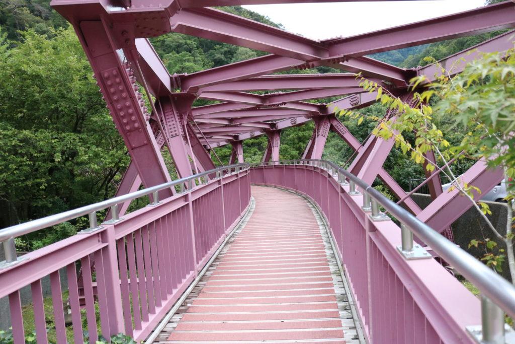 あやとり橋の景色