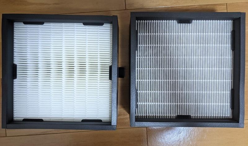 バルミューダ空気清浄機のフィルター