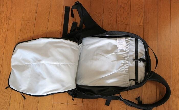 mantis26のメインポケット