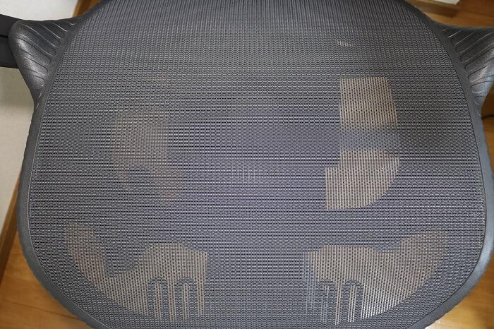 ミラ2の座面