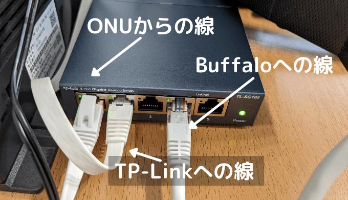 IPv4とIPv6併用時のスイッチングハブ